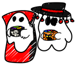 Spooky Ghosts
