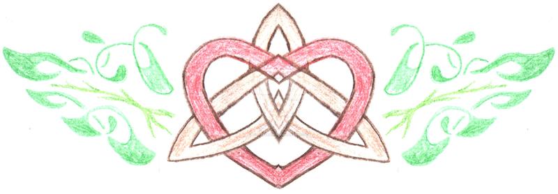 Celtic Heart Tattoo by ScarletRainxX