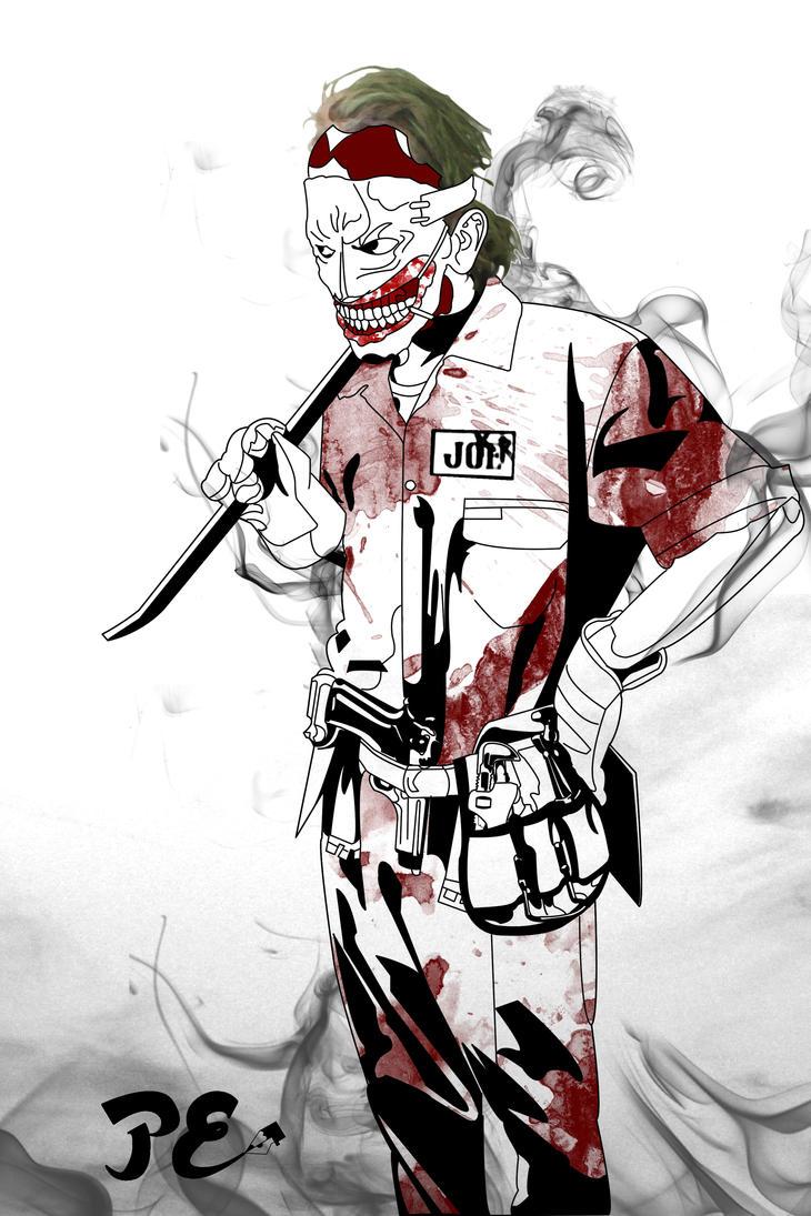 Joker Fan Art by fineapaulworks
