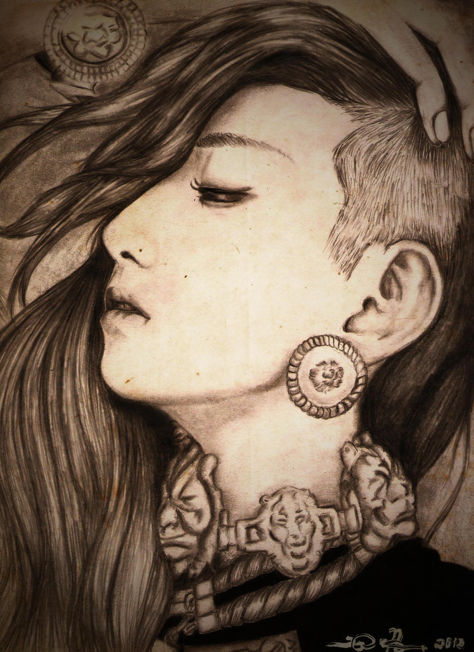Dara by fineapaulworks