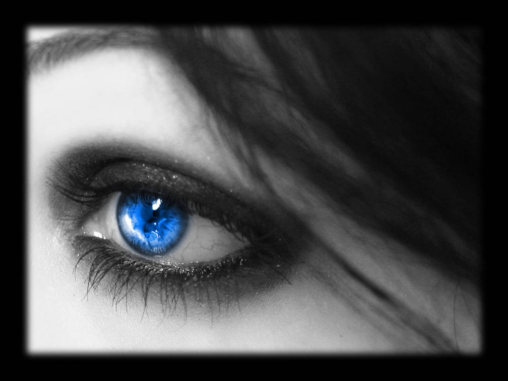 WP - Eye - Blue by Silentwaters