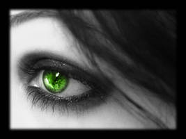 WP - Eye - Green by Silentwaters