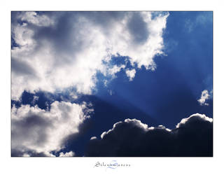 Clouds and Rays by Silentwaters
