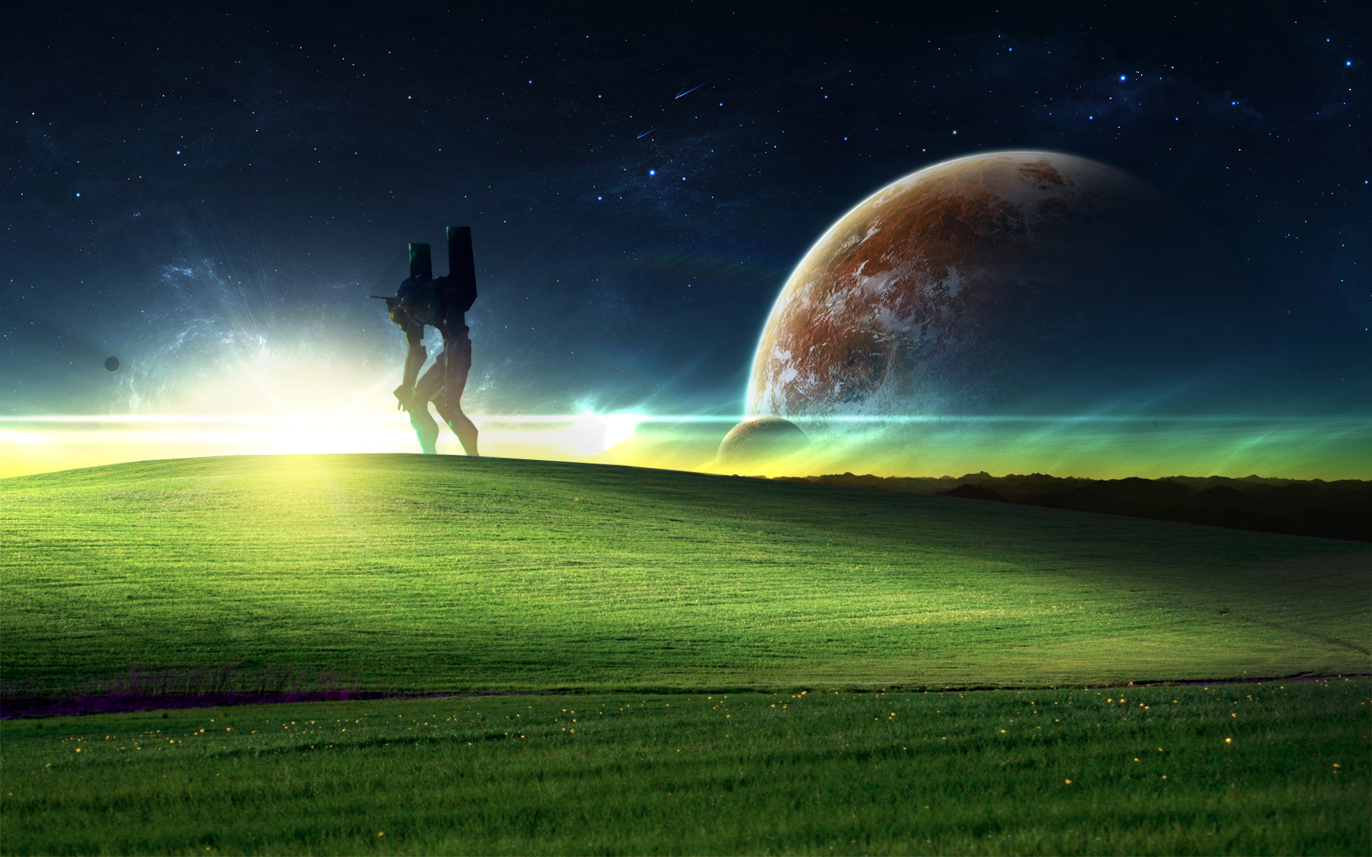 Something a little different windows xp wallpaper - Windows 7 space wallpaper ...