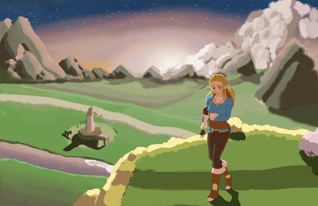 Zelda by Oqarin