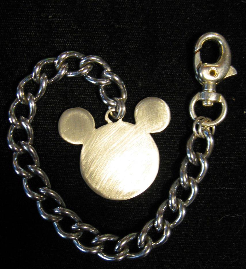 Keyblade Mickey Keychain by TheyCallMeMewt