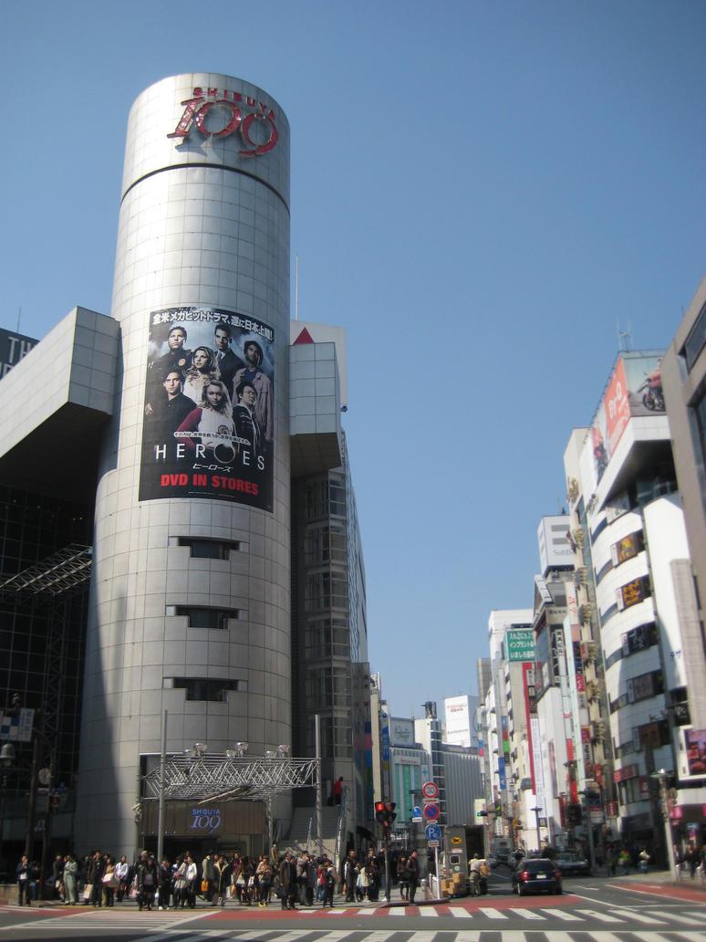 Shibuya 109 by EarthenSkye