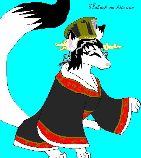 habeak-no-kitsune by sexyballoffluff