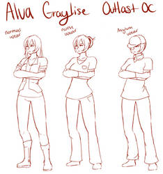 Alva Graylise (outlast oc)