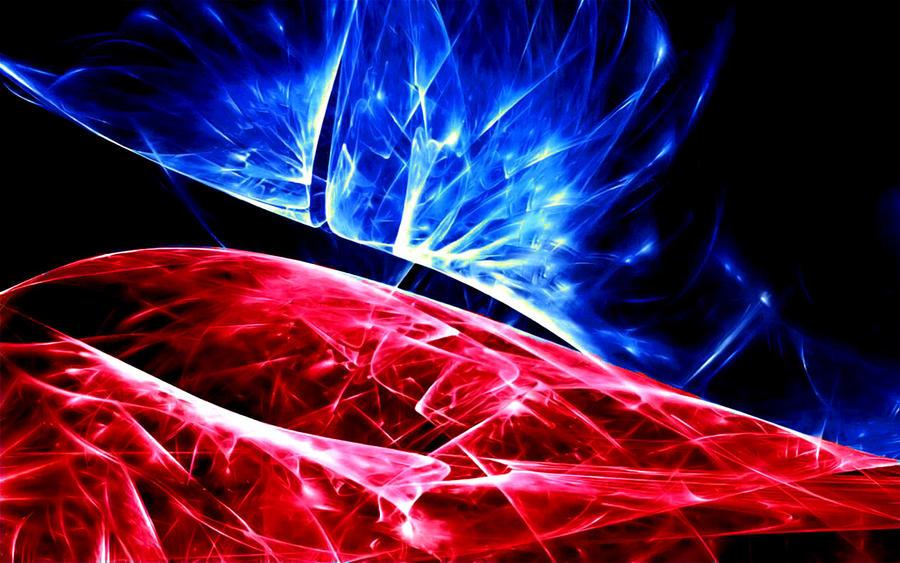 red blue abstract by sockdpoof on deviantart. Black Bedroom Furniture Sets. Home Design Ideas