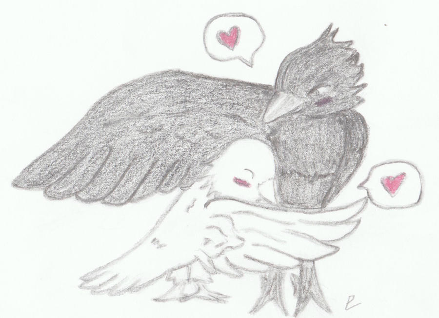 Love birds by pokemoneg