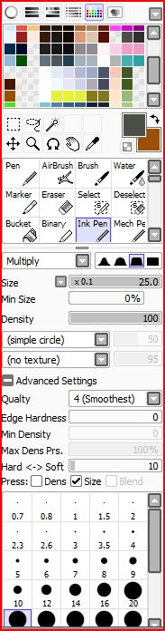 Ink Pen Settings by pokemoneg