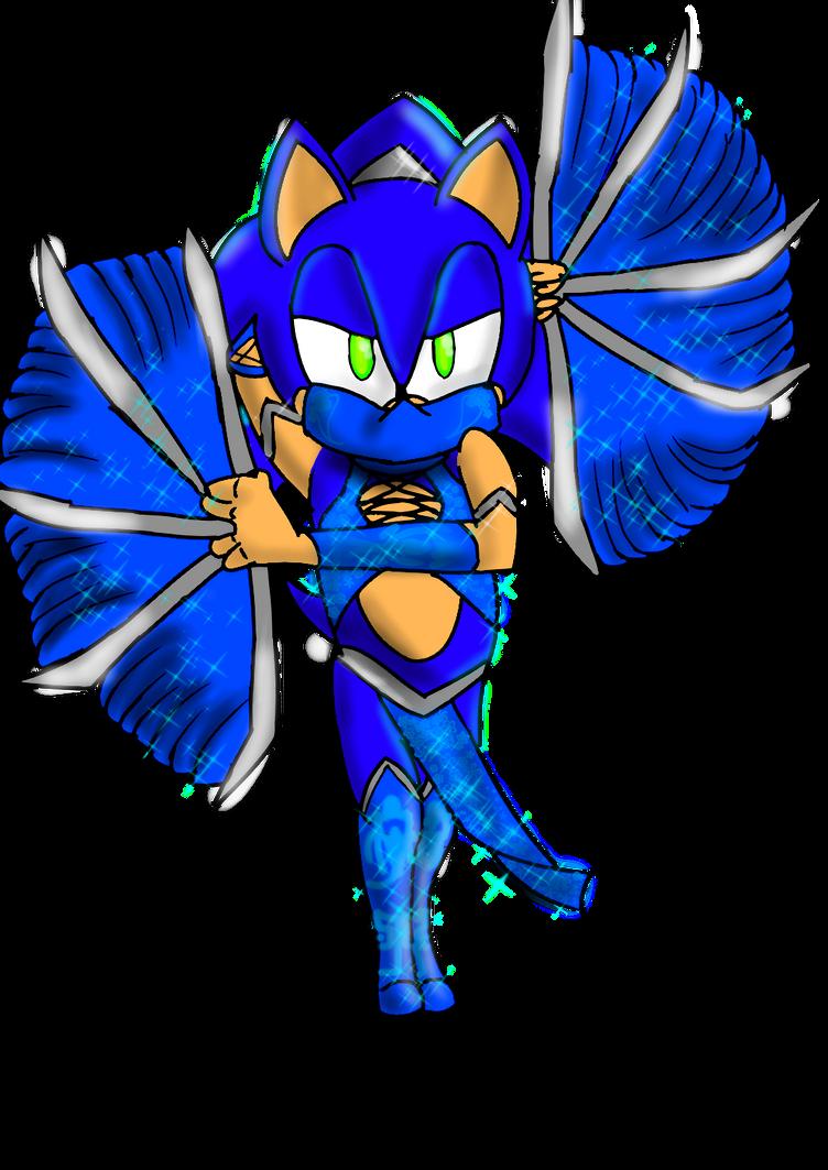 Sonic as Kitana by Soshadilver