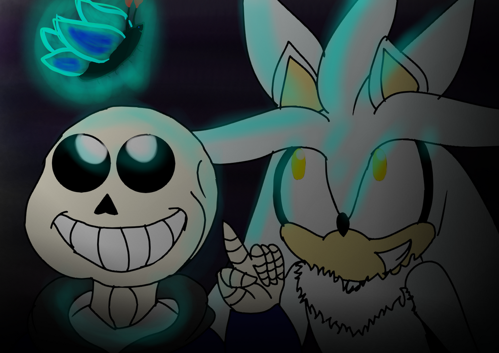 Sans and Silver by Soshadilver