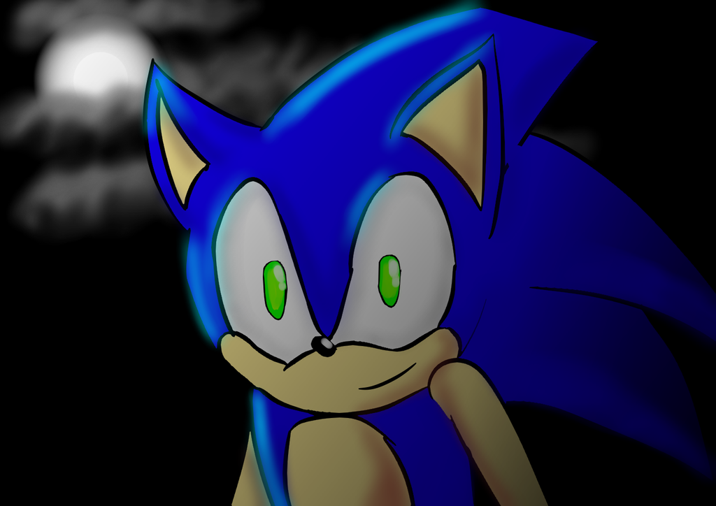 Sonic the Hedgehog by Soshadilver