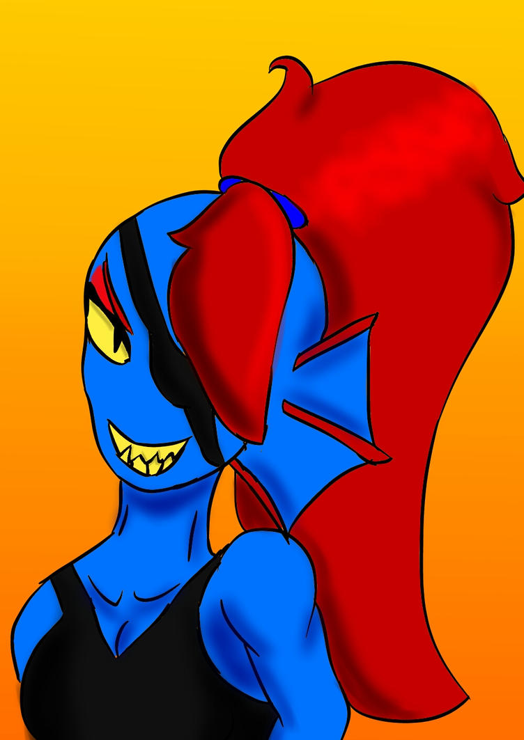 Undyne the Undying by Soshadilver