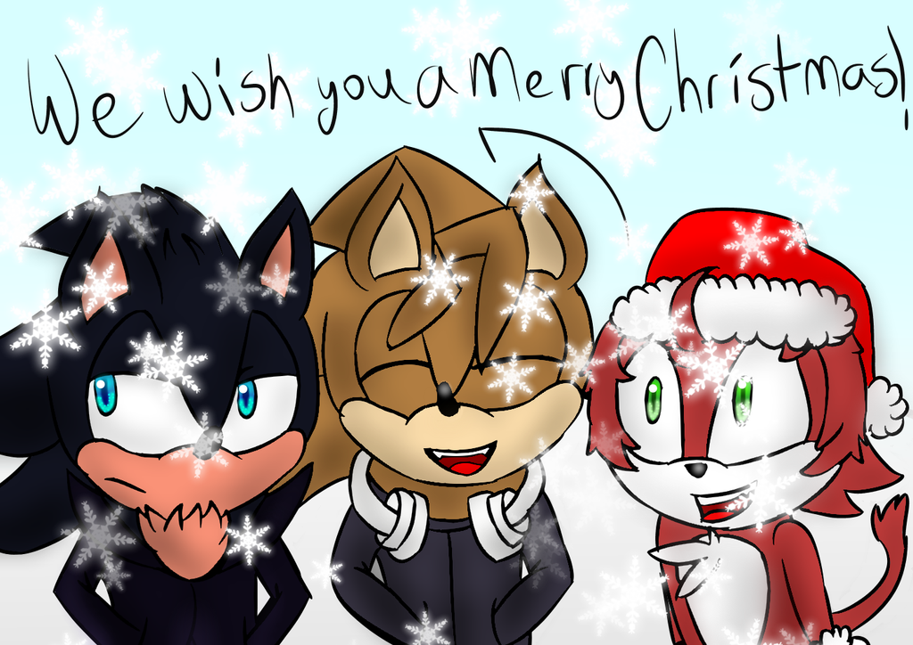 Request: Christmas Carolers by Soshadilver