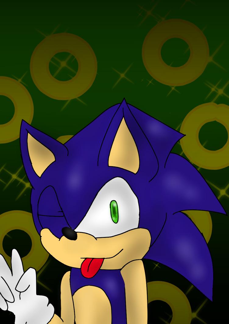 Art Trade: Sonic the Hedgehog by Soshadilver