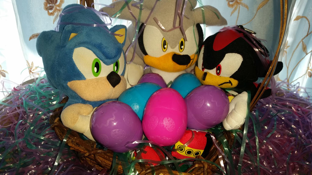 Hedgehogs in a Basket Happy Easter!!!!!! by Soshadilver