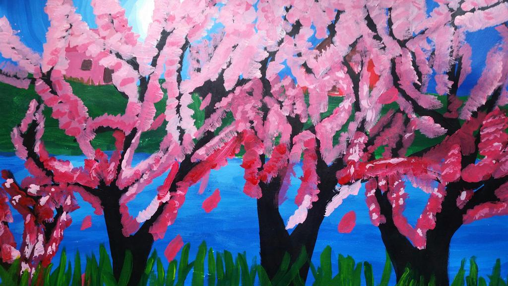 Cherry Tree  by Soshadilver
