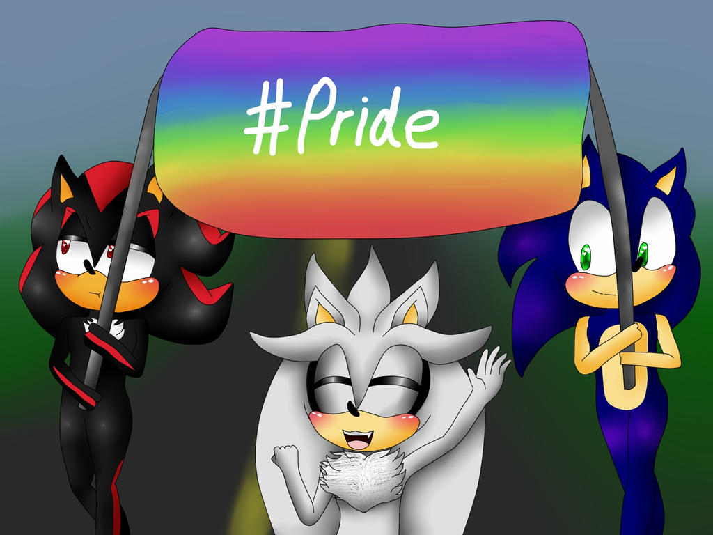Happy Pride Month! by Soshadilver