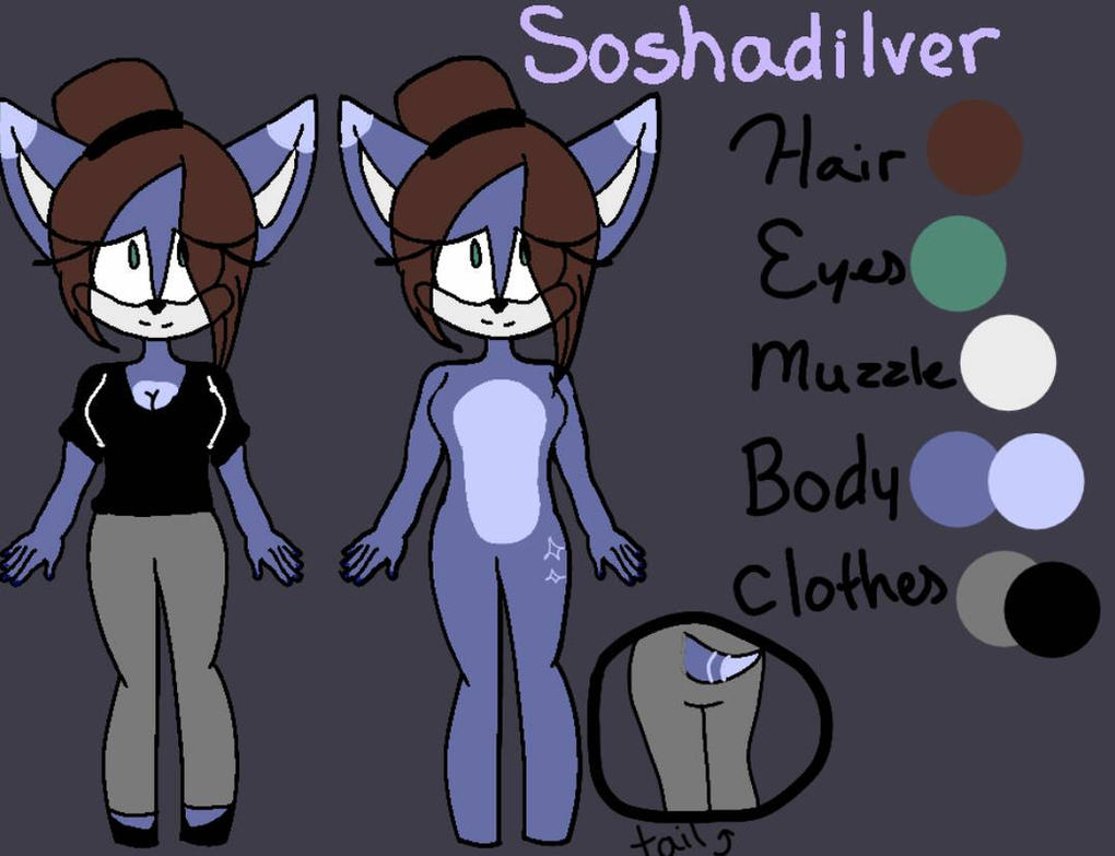 Me as a Hedgie Ref by Soshadilver