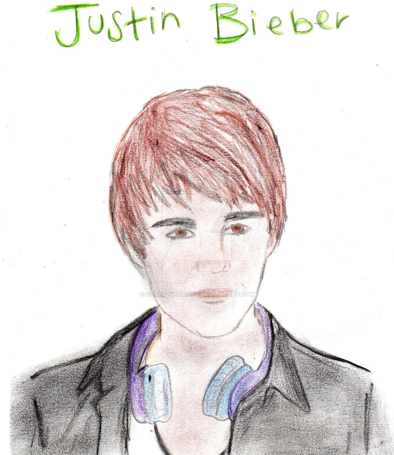 Justin Bieber By Silver-Shadoww On DeviantArt