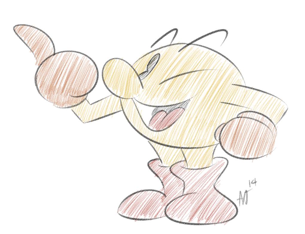 Pac-Man by ojcartoons