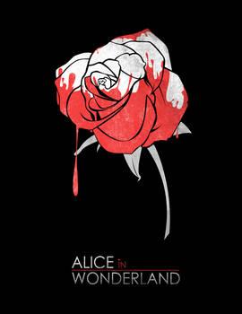 Minimalist Poster : Alice in Wonderland