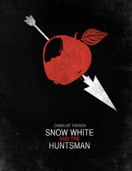 Minimalist Poster : Snow White And The Huntsman