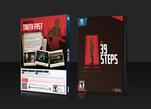 [2] STEAM LIBRARY - CUSTOM COVER ART : 39 STEPS