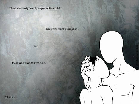 Two Types of People Wallpaper