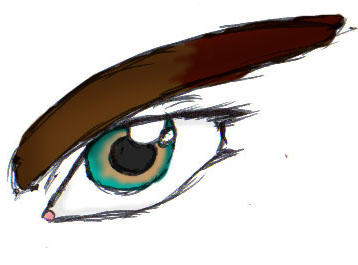 Kieran has pretty eyes