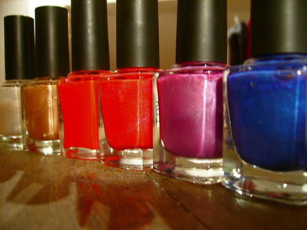 nailpolish by rainbow-colour