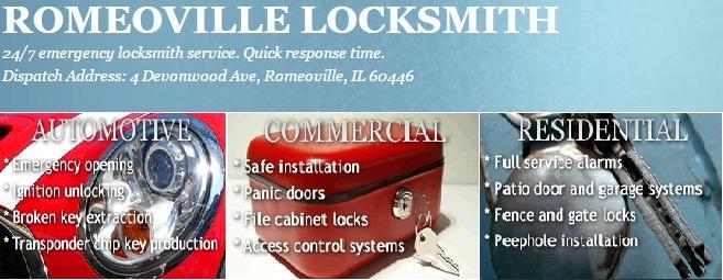 Locksmith Romeoville IL