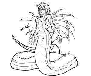 King Cobra sketch by 380150627