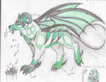 My Mythical Creature Colored