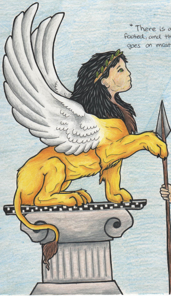 Oedipus Sphinx by Draw...