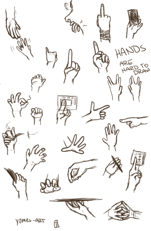 Hands Pratice by Heumilch
