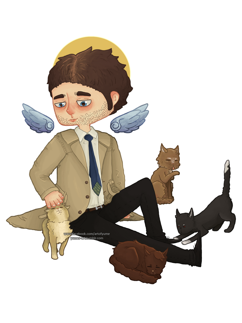 Cas And Cats by Heumilch