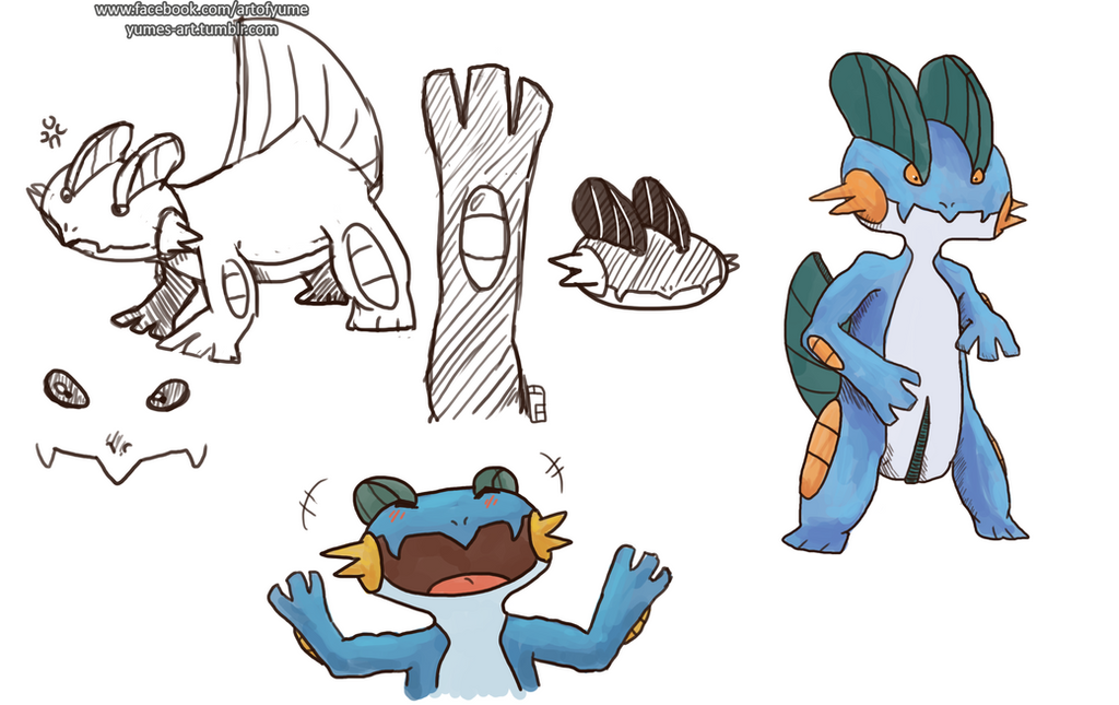 Swampert by Heumilch