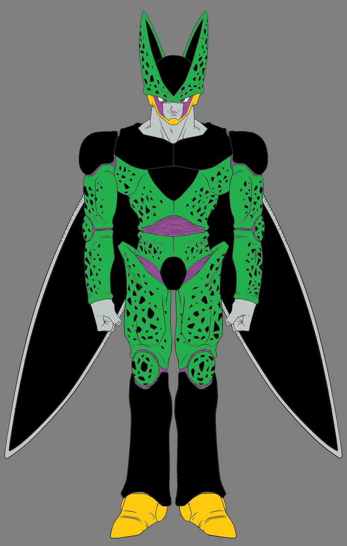 Perfect Form Cell - DBZ Androids / Cell Saga by CAR-TACO on DeviantArt