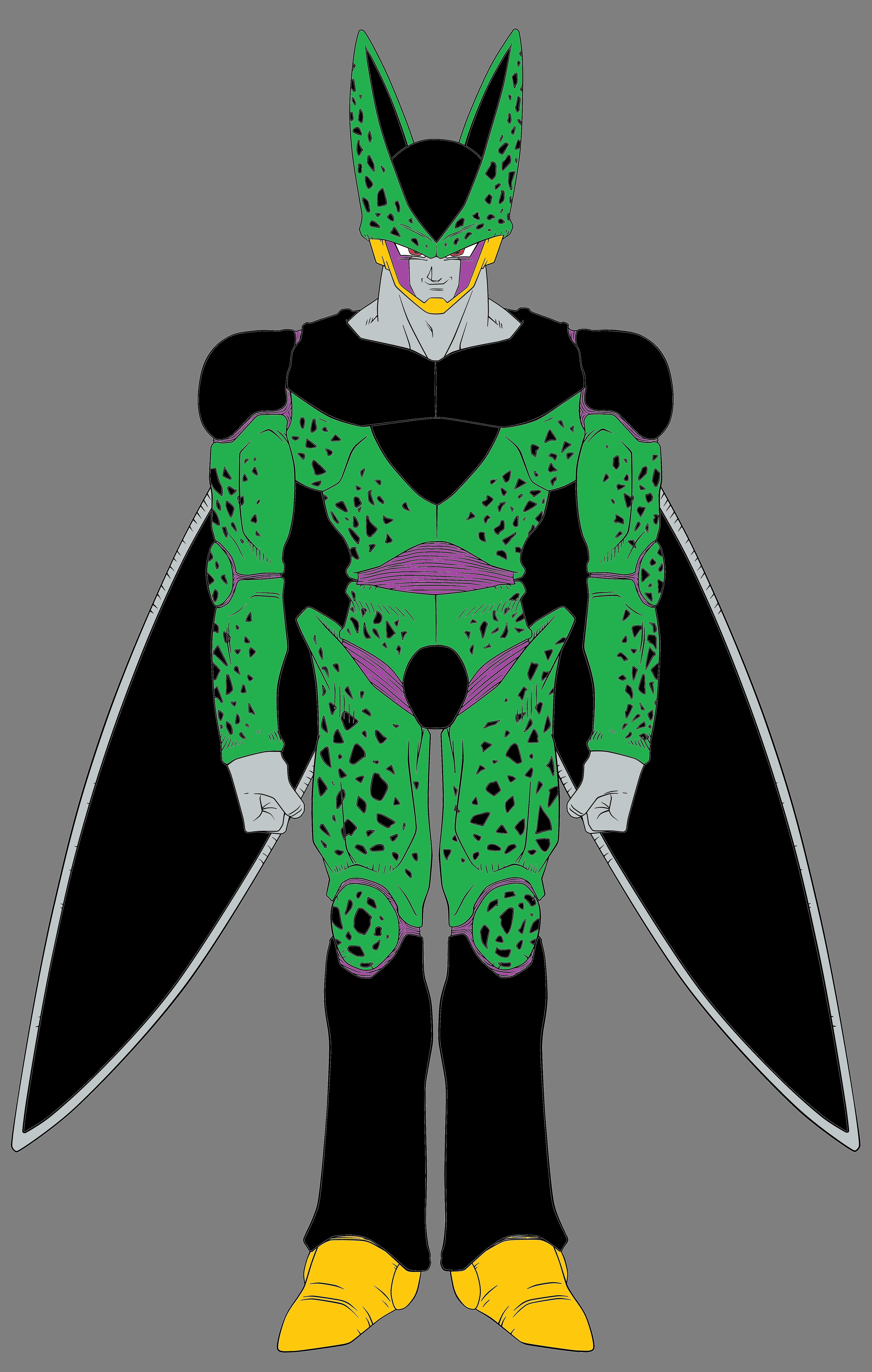 Perfect Form Cell - DBZ Androids / Cell Saga by CAR-TACO ...