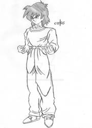 New DBGT - Son Goten Sketch by CAR-TACO