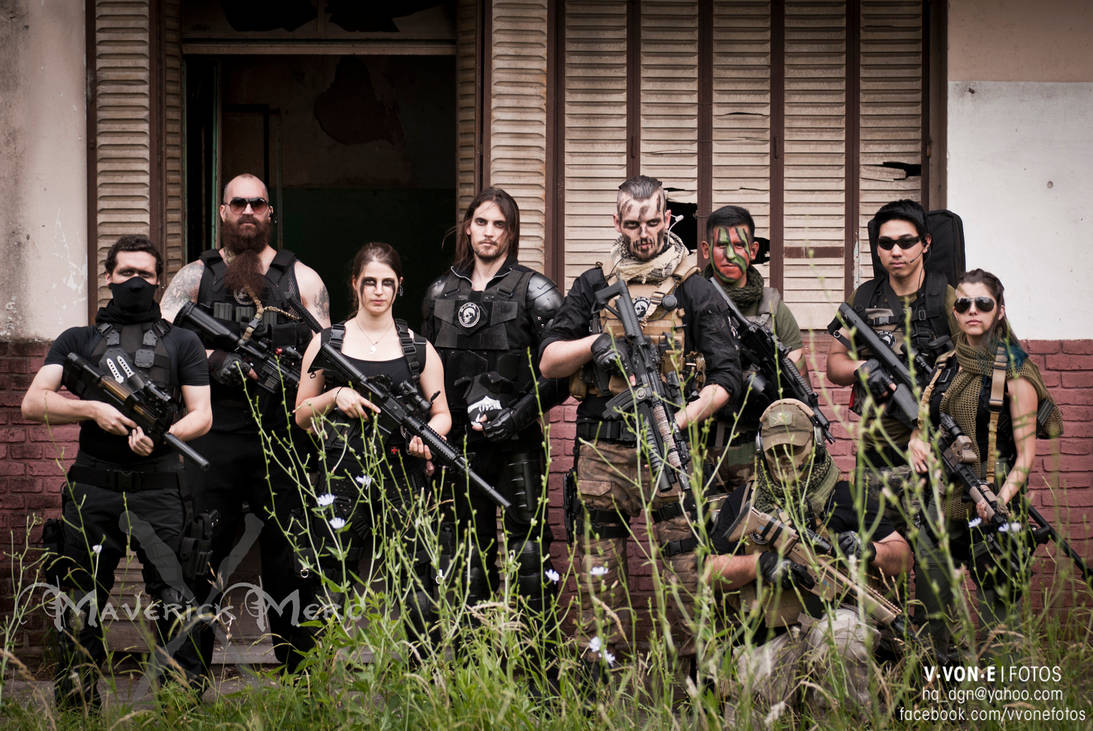 S.C.A.R. (Special Counter Action Recon) FULL TEAM