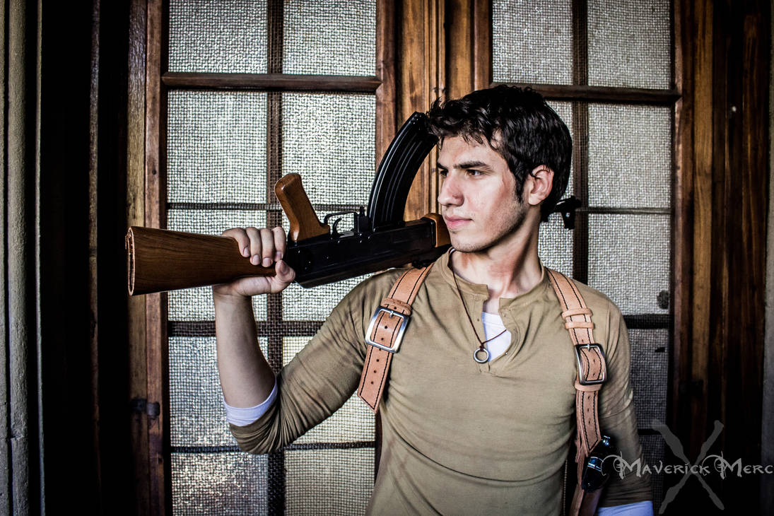 uncharted 2 shoulder holster 02 by I-MOKH on DeviantArt