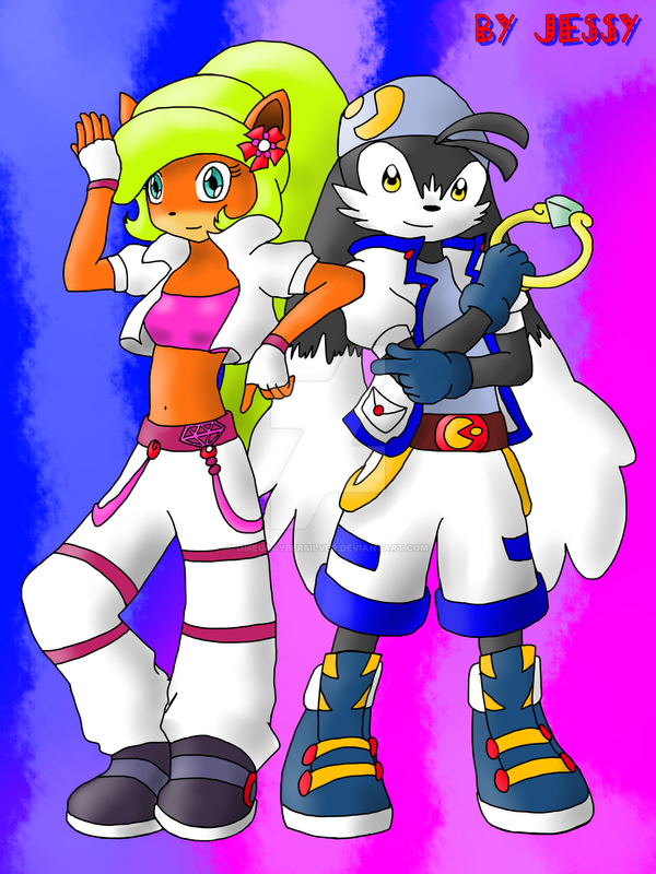 Coco and Klonoa 2 by omegacybersilver