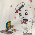 Stay Puft Marshmallow Man!