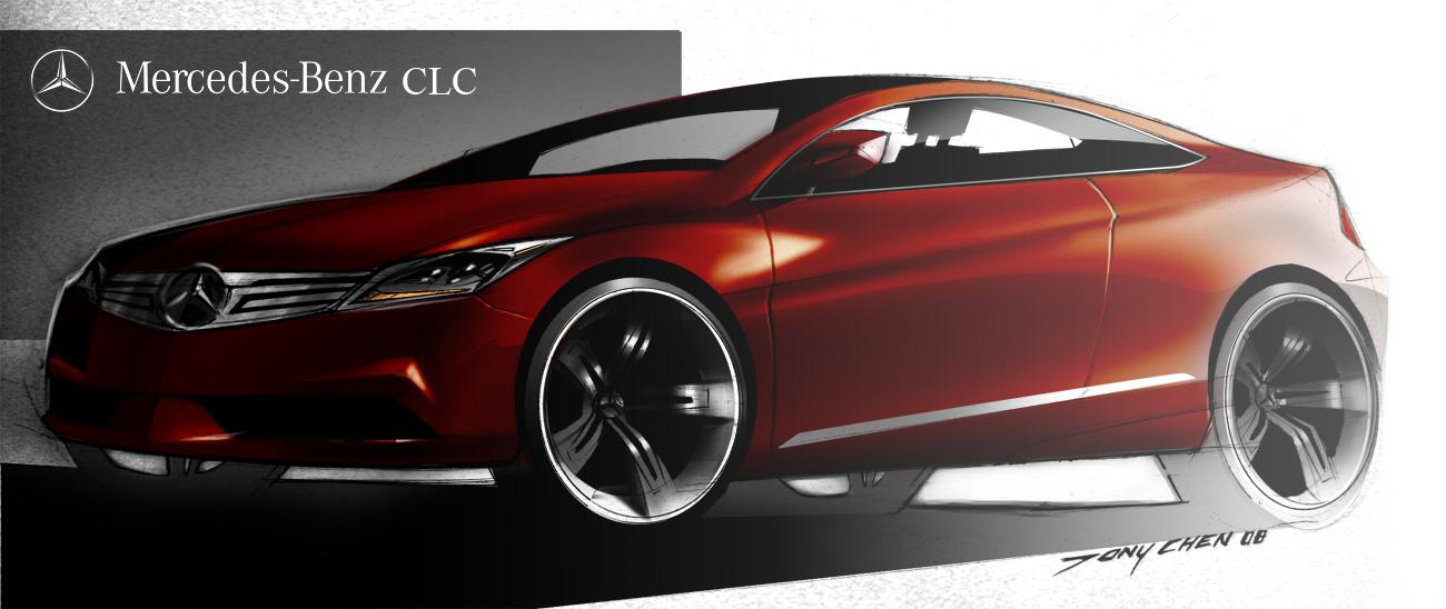 Mercedes CLC concept by TonyWcK