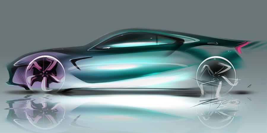 Lexus LFB Concept side by TonyWcK